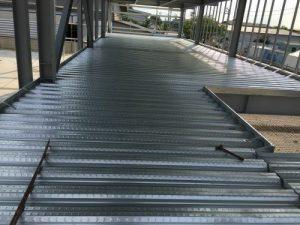 tôn đổ dàn - tôn đổ sàn deck