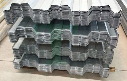 tôn đổ sàn Deck sóng cao 50