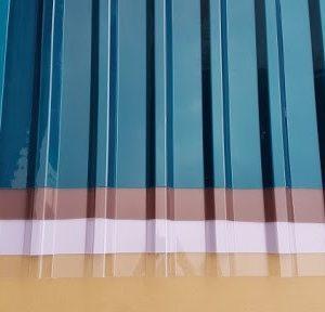tôn nhựa sóng vuông