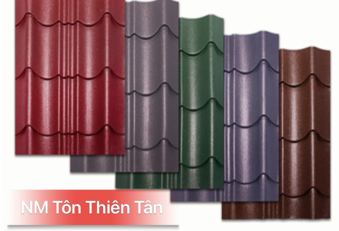 Các loại tôn lợp mái phổ biến được nhiều người dùng nhất hiện nay